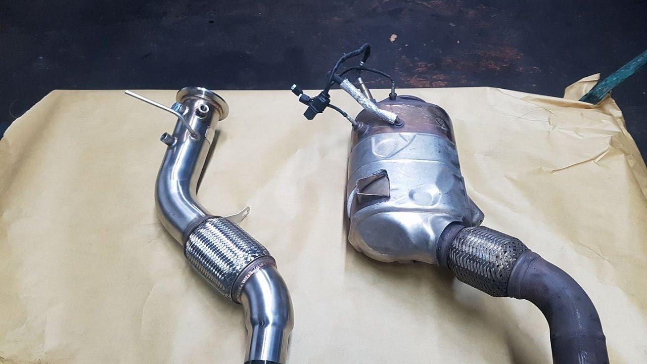 Sound Beim Diesel   Bmw E90 325d Downpipe Brutal Exhaust Sound