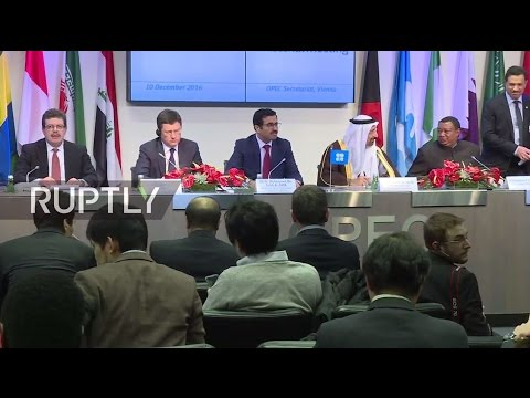 LIVE: OPEC to meet non-OPEC members to decide on oil limiting pact - Press conference