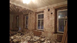 Подготовка к новому полу. Обзор демонтажа квартиры 100 кв.м.