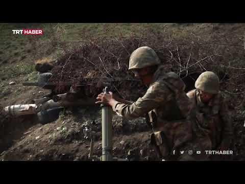 Azerbaycan Ordusu ilerliyor... İşte cephe hattından yeni görüntüler.