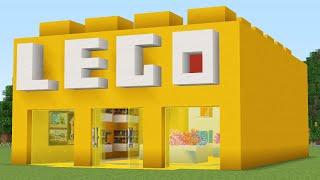 как сделать дом в майнкрафте из лего
