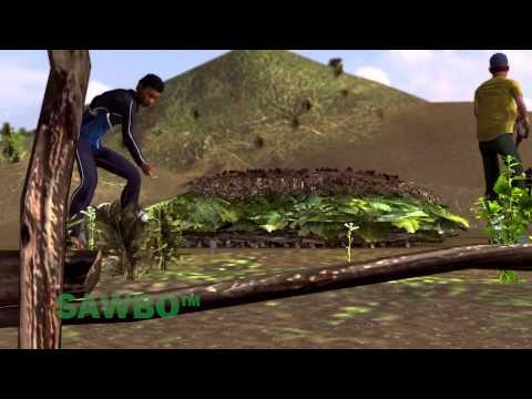 Le Jardinage de Survie: Comment faire pour créer du compost en Français (accent de la République Démocratique du Congo) 3D