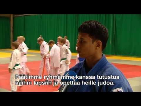 Rajesh - Helsinki Judo Camp, Finland