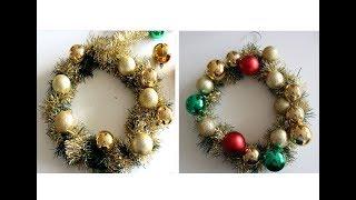 Schöne Diy Deko Ideen  ! Weihnachtskranz  Selber Machen ! - Beautiful Handmade Wreath
