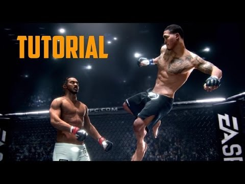 EA SPORTS UFC - Tutorial y primer combate en PS4