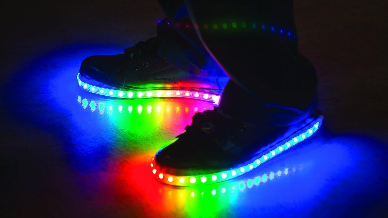 0e9af831b16a NEW LIGHT UP SHOES - YouTube
