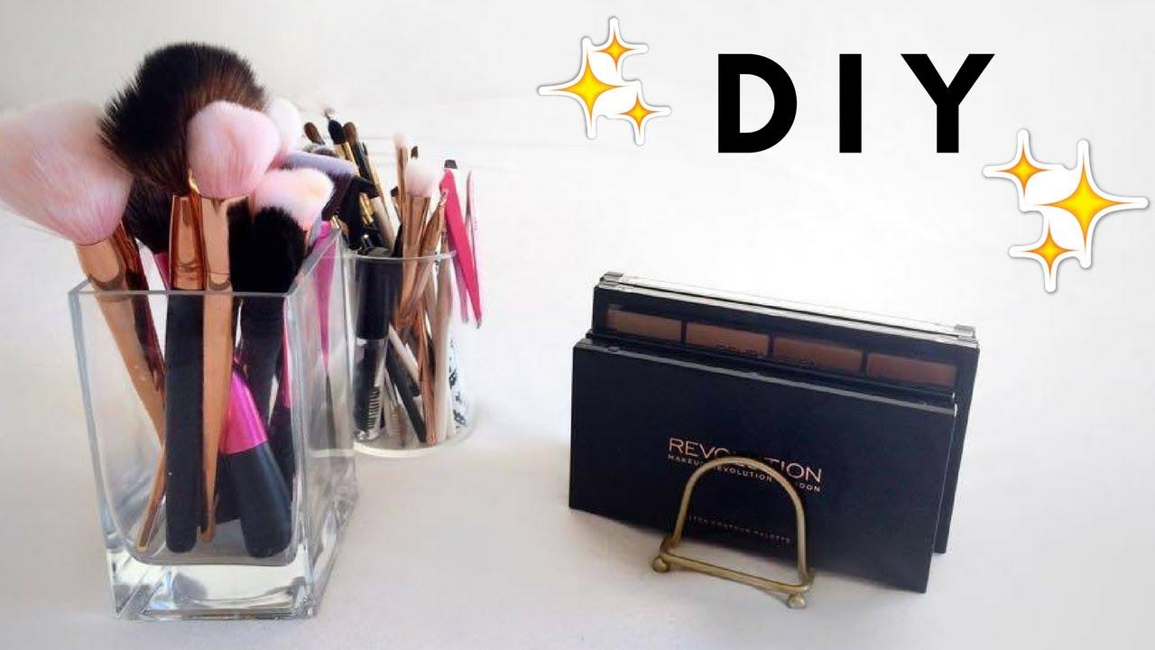 Diy Porte Palettes Rangement à Maquillage Abordable Shantiglam