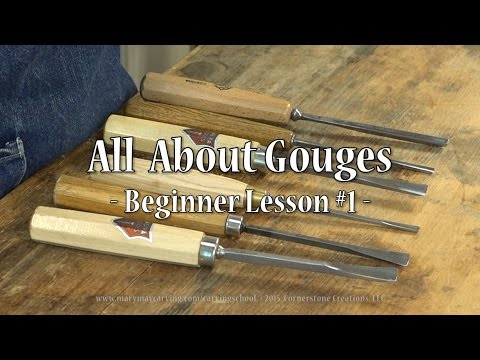 All About Gouges - Beginner Lesson #1