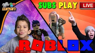 ⭐ ROBLOX LIVE ⭐NEW IRL MERCH 🔥 Subs Play Jailbreak / Speed Run  and More 💙  (1-30-18)