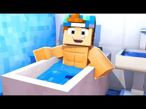 THE BIGGEST BATHROOM EVER!   Minecraft Build Battle