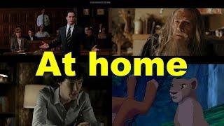 Английские фразы: At home (примеры из фильмов и сериалов)