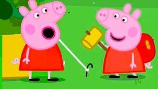 Свинка Пеппа Натянула с Сюзи желтую палатку #DJESSMAY