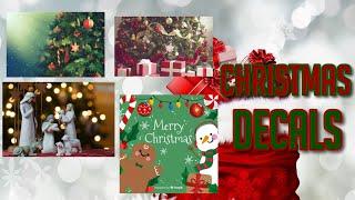 Roblox Bloxburg - Christmas Decal Id's