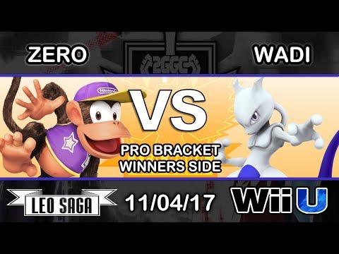 2GGC: MKLeo Saga - TSM | ZeRo (Diddy Kong) Vs. EMP | WaDi (Mewtwo) - Pro Bracket Winners Side