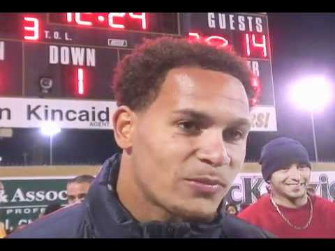 Cortland Finnegan at Milton High