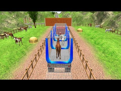 Pet Animal Transport Truck Driving 3D Simulator -  Android Gameplay FHD - Kids Car Trucks Games