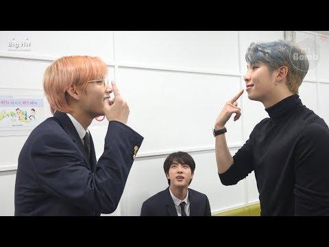 [BANGTAN BOMB] RM, Jin & V having fun singing songs - BTS ()