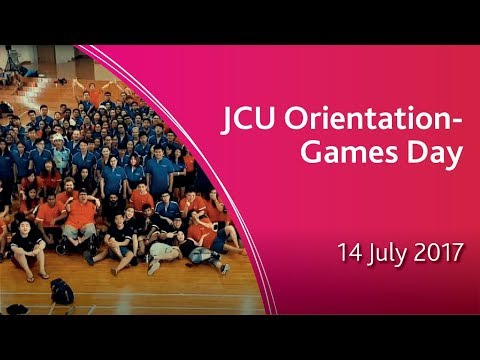JCU Singapore Orientation - Games Day