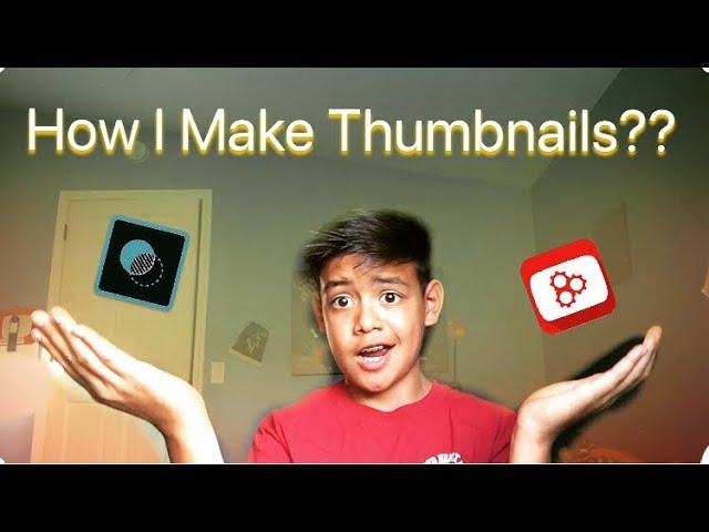 HOW I MAKE MY THUMBNAILS ( Tutorial )