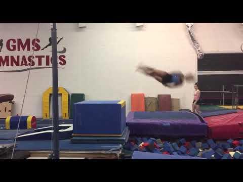 Jasmine Williamson-Level 10-GMS Gymnastics**GRAD 2022** Vault Practice Video-Yurchenko Full