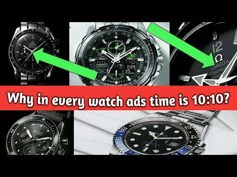 Why in every watch ads time is 10:10? II  by Life Tv