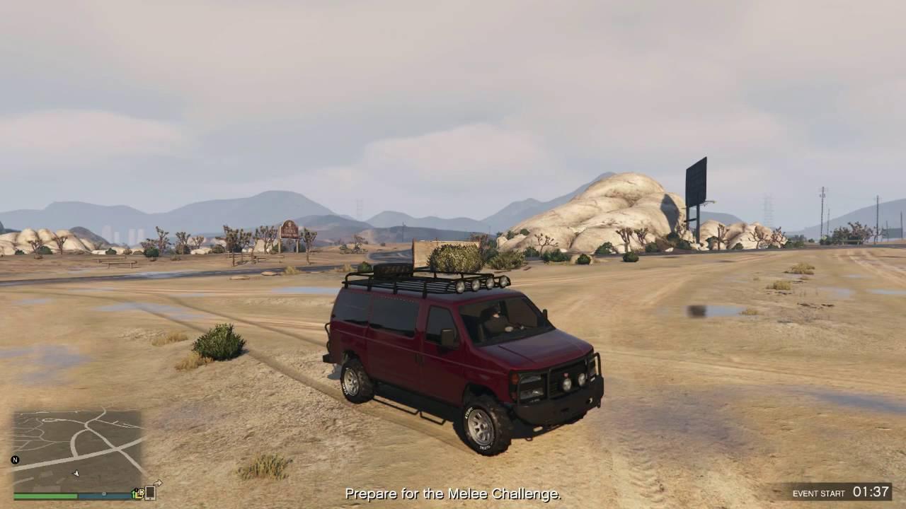 GTA V Rumpo Custom Off Road Flipping Van Finance And Felony Update