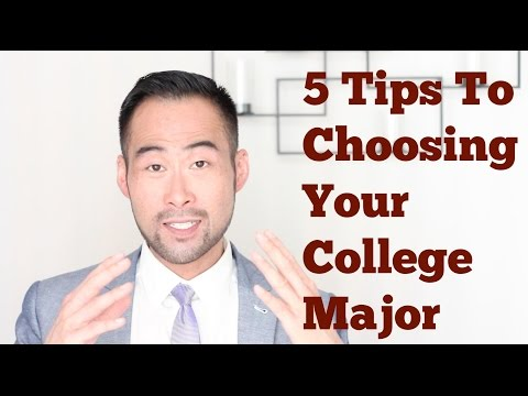 How To Choose The Perfect College Major For You