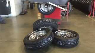 Tires on rims america's tire palm springs Sandra's 1965 Mustang 2+2 Fastback - Day 63