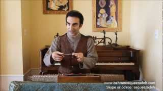 Tuning  the Santur 1/3 - Online Lessons Eps. 5 | آموزش کوک سنتور