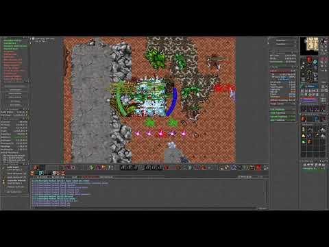 Tibia Prison -2 Duo Hunt EK+ED 3.3kk/h~ on 100%