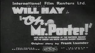 Oh, Mr Porter! [1937] Marcel Varnel