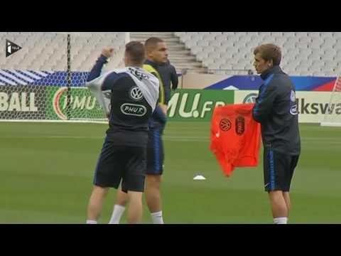 Football : Un duo Griezmann-Gameiro pour les bleus face à la Bulgarie