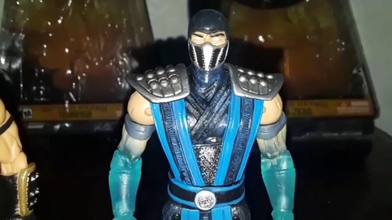 Mortal Kombat Shaolin Monks Scorpion and Sub Zero 6'Inch Figures Review Jazwares