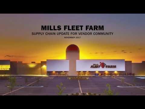 Mills Fleet Farm Supply Chain Updates Nov. 2017