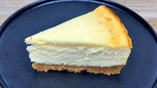 How To Make Baked New York Cheesecake