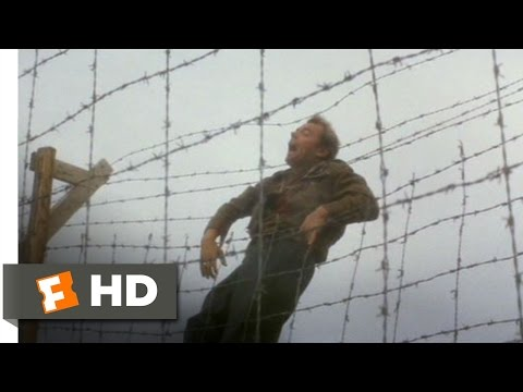 The Great Escape (8/11) Movie CLIP - Ives Crosses the Wire (1963) HD