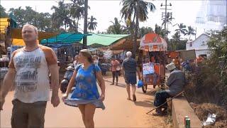 Anjuna Market Goa India