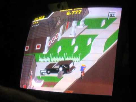Paperboy I Arcade I Atari I Gameplay I Easy Street - 137,986