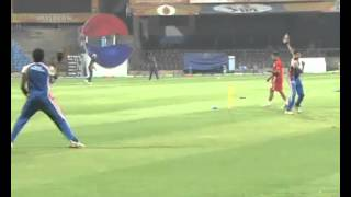 IPL 2013 Season 6-Royal Challengers Bangalore vs Pune Warriors-Practice Session-IANS India Videos