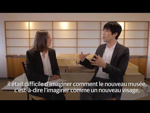 Le pavillon Pierre Lassonde du MNBAQ | Rencontre avec l'architecte Shohei Shigematsu