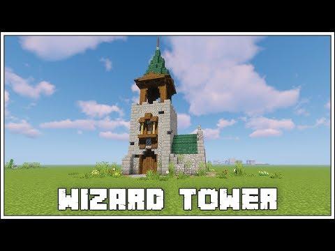 Minecraft ►Wizard Tower [Tutorial]