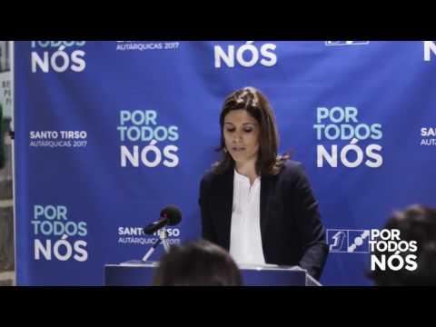 Apresentação da candidata Inês Rodrigues à União de Freguesias de Carreira e Refojos