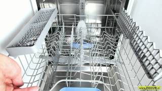 Bosch SMV53M90EU Inbouw Vaatwasser met InfoLight