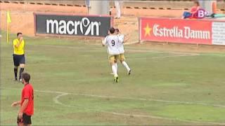 Resumen Mallorca B 0 - Reus 3 2ªB Grupo 3. Temporada 14/15