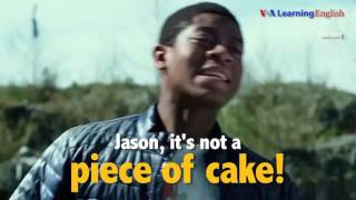 its a piece of cake