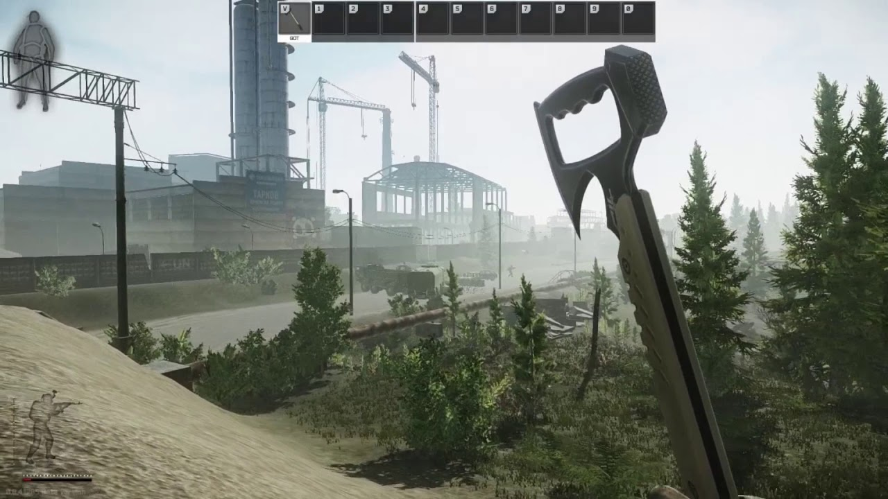 Escape From Tarkov   Infinite Endurance and Strength Glitch   Customs by  YeOJay