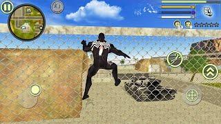Venom Spider Rope Hero Vice Town #3 - Android Gameplay screenshot 4