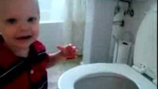 Cason on Potty