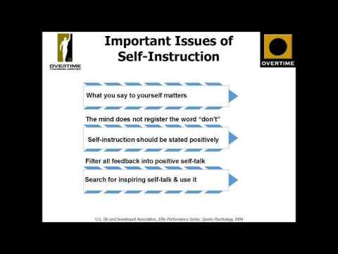Psychological Skills Training: Self-Talk