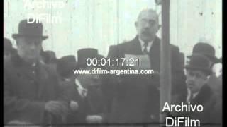 DiFilm - Marcelo T. de Alvear en distintos actos presidenciales 1927